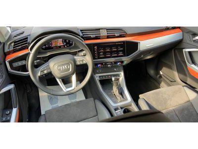 AUDI Q3 35 TDI 150 CH S TRONIC 7 QUATTRO DESIGN LUXE - Miniature 2