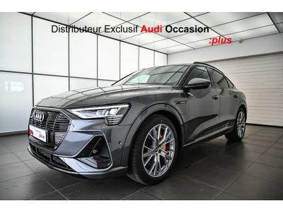 Audi E-tron Sportback 55 quattro 408 ch S line occasion