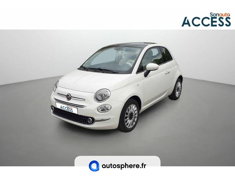 FIAT 500 1.2 69 CH LOUNGE - Photo 1
