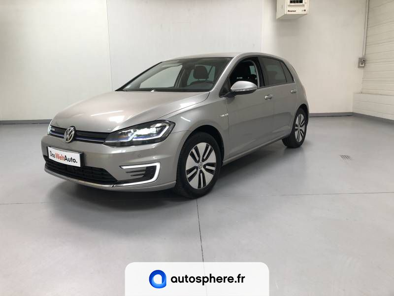VOLKSWAGEN E-GOLF 136 ELECTRIQUE - Photo 1