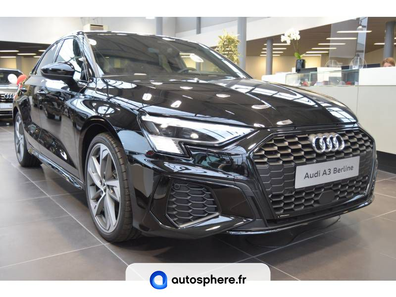 AUDI A3 BERLINE 35 TFSI 150 S TRONIC 7 S LINE - Photo 1