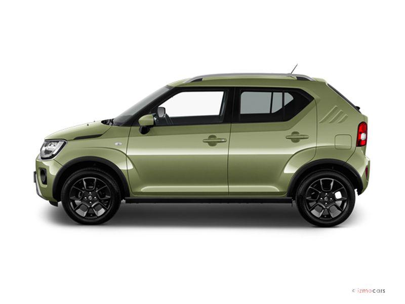 Photo de la SUZUKI IGNIS PRIVILèGE IGNIS 1.2 DUALJET AUTO CVT 5 PORTES à motorisation ESSENCE et boite AUTOMATIQUE de couleur VERT - Photo 1