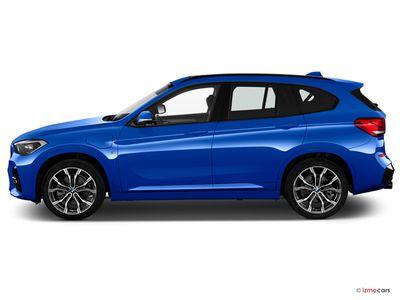 Miniature de la BMW X1 XLINE X1 XDRIVE 25E 220 CH BVA6 5 PORTES à motorisation HYBRIDE RECHARGEABLE et boite AUTOMATIQUE de couleur BLANC - Miniature 5