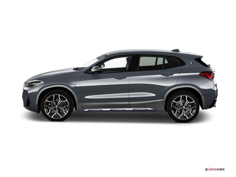 Photo de la BMW X2 PREMIèRE X2 XDRIVE 25E 220 CH BVA6 5 PORTES à motorisation HYBRIDE RECHARGEABLE et boite AUTOMATIQUE de couleur GRIS - Photo 1