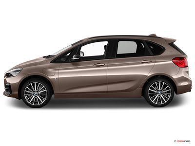 Miniature de la BMW SERIE 2 ACTIVE TOURER M SPORT ACTIVE TOURER 225XE IPERFORMANCE 220 CH BVA6 5 PORTES à motorisation HYBRIDE RECHARGEABLE et boite AUTOMATIQUE de couleur BLANC - Miniature 5