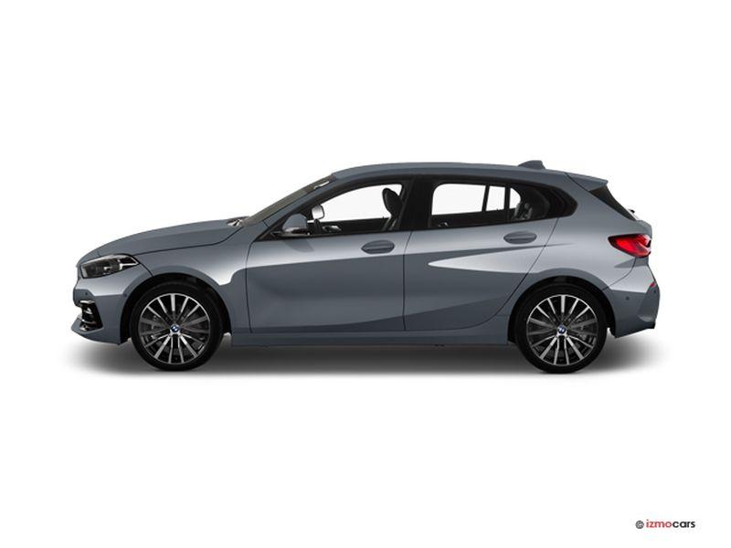 Photo de la BMW SERIE 1 M SPORT 118I 136 CH 5 PORTES à motorisation ESSENCE et boite MANUELLE de couleur GRIS - Photo 1