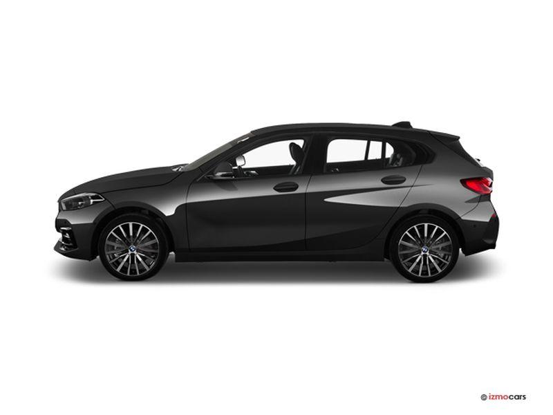 Photo de la BMW SERIE 1 M SPORT 120D XDRIVE 190 CH BVA8 5 PORTES à motorisation DIESEL et boite AUTOMATIQUE de couleur NOIR - Photo 1
