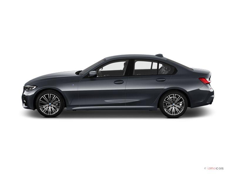 Photo de la BMW SERIE 3 M SPORT 318D 150 CH 4 PORTES à motorisation DIESEL et boite MANUELLE de couleur GRIS - Photo 1