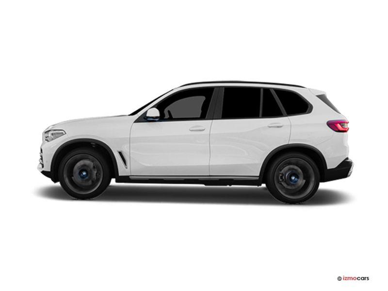Photo de la BMW X5 M SPORT X5 XDRIVE45E 394 CH BVA8 5 PORTES à motorisation HYBRIDE RECHARGEABLE et boite AUTOMATIQUE de couleur BLANC - Photo 1