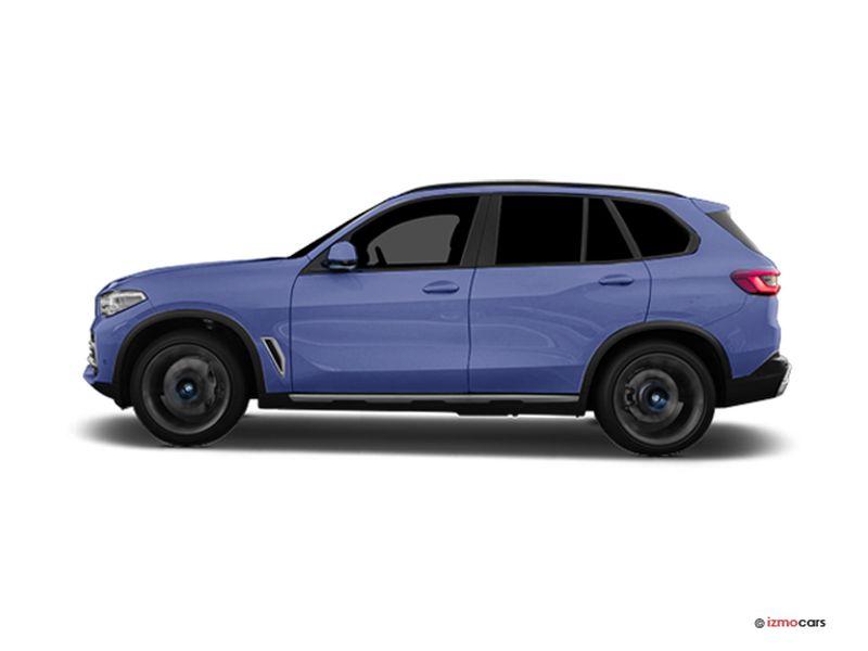 Photo de la BMW X5 M SPORT X5 XDRIVE45E 394 CH BVA8 5 PORTES à motorisation HYBRIDE RECHARGEABLE et boite AUTOMATIQUE de couleur BLEU - Photo 1