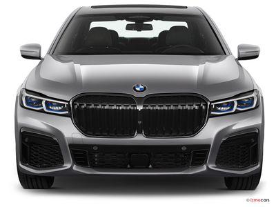 Miniature de la BMW SERIE 7 M SPORT 745E 394 CH BVA8 4 PORTES à motorisation HYBRIDE RECHARGEABLE et boite AUTOMATIQUE de couleur GRIS - Miniature 3