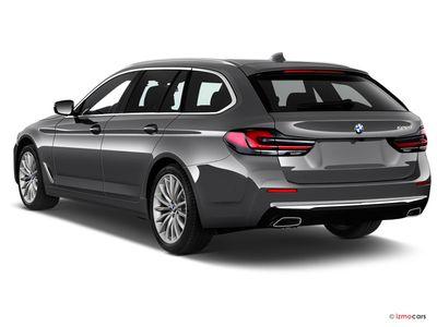 Miniature de la BMW SERIE 5 TOURING LOUNGE TOURING 530E TWINPOWER TURBO 292 CH BVA8 5 PORTES à motorisation HYBRIDE RECHARGEABLE et boite AUTOMATIQUE de couleur NOIR - Miniature 2