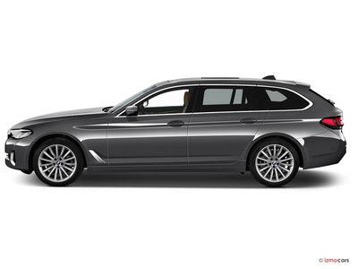 Miniature de la BMW SERIE 5 TOURING LOUNGE TOURING 530E TWINPOWER TURBO 292 CH BVA8 5 PORTES à motorisation HYBRIDE RECHARGEABLE et boite AUTOMATIQUE de couleur NOIR - Miniature 5