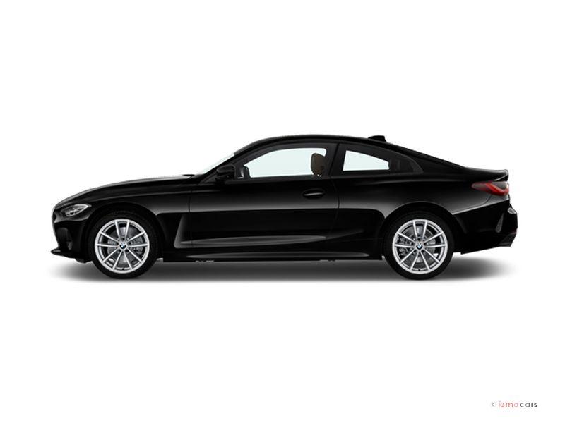 Photo de la BMW SERIE 4 COUPE COUPé 420I 184 CH 2 PORTES à motorisation ESSENCE et boite AUTOMATIQUE de couleur NOIR - Photo 1