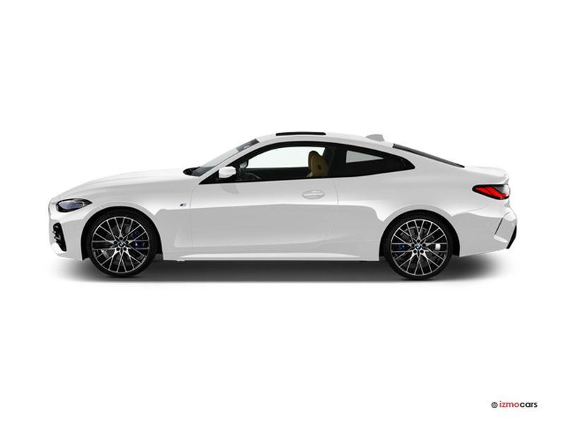 Photo de la BMW SERIE 4 COUPE M SPORT COUPé 420D XDRIVE 190 CH 2 PORTES à motorisation DIESEL et boite AUTOMATIQUE de couleur BLANC - Photo 1