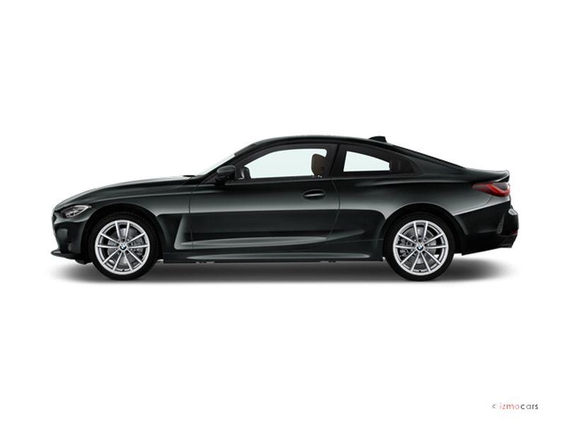 Photo de la BMW SERIE 4 COUPE COUPé 420I 184 CH 2 PORTES à motorisation ESSENCE et boite AUTOMATIQUE de couleur GRIS - Photo 1
