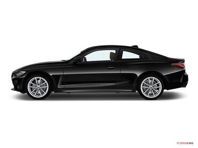 Miniature de la BMW SERIE 4 COUPE COUPé 420I 184 CH 2 PORTES à motorisation ESSENCE et boite AUTOMATIQUE de couleur GRIS - Miniature 2