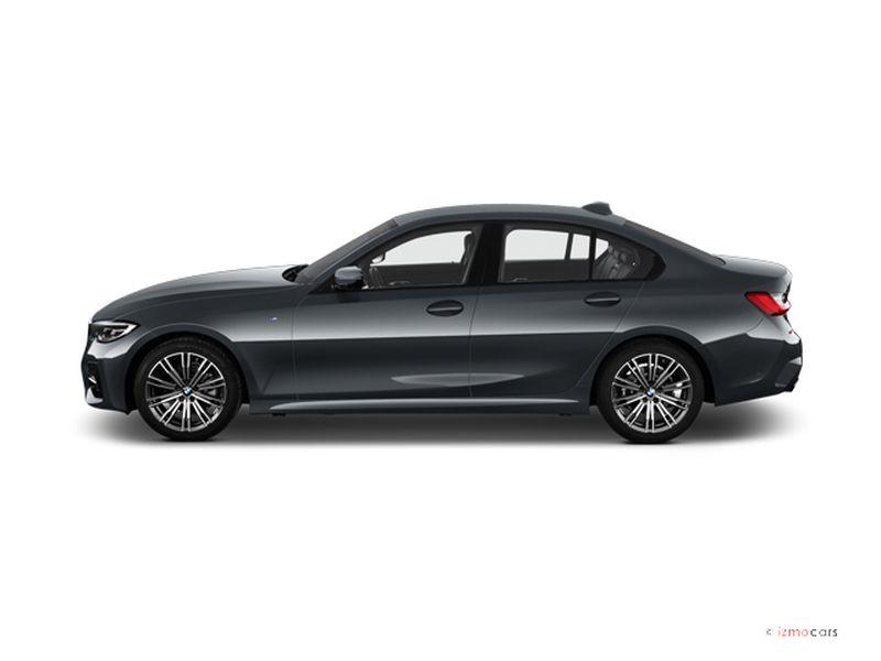 Photo de la BMW SERIE 3 BUSINESS DESIGN 318D 150 CH BVA8 4 PORTES à motorisation DIESEL et boite AUTOMATIQUE de couleur GRIS - Photo 1