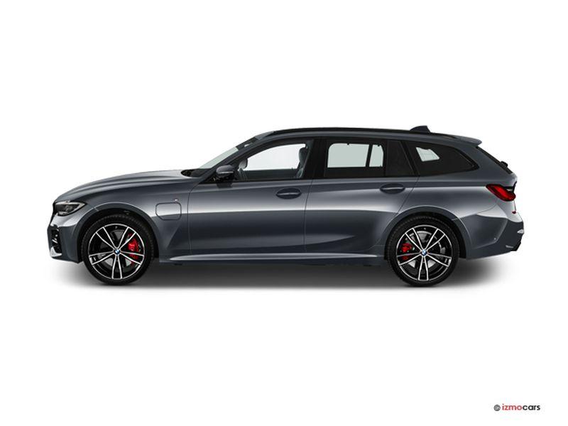 Photo de la BMW SERIE 3 TOURING LOUNGE TOURING 320E 204 CH BVA8 5 PORTES à motorisation HYBRIDE RECHARGEABLE et boite AUTOMATIQUE de couleur GRIS - Photo 1