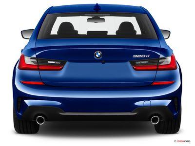 Miniature de la BMW SERIE 3 M SPORT 320E 204 CH BVA8 4 PORTES à motorisation HYBRIDE RECHARGEABLE et boite AUTOMATIQUE de couleur GRIS - Miniature 4