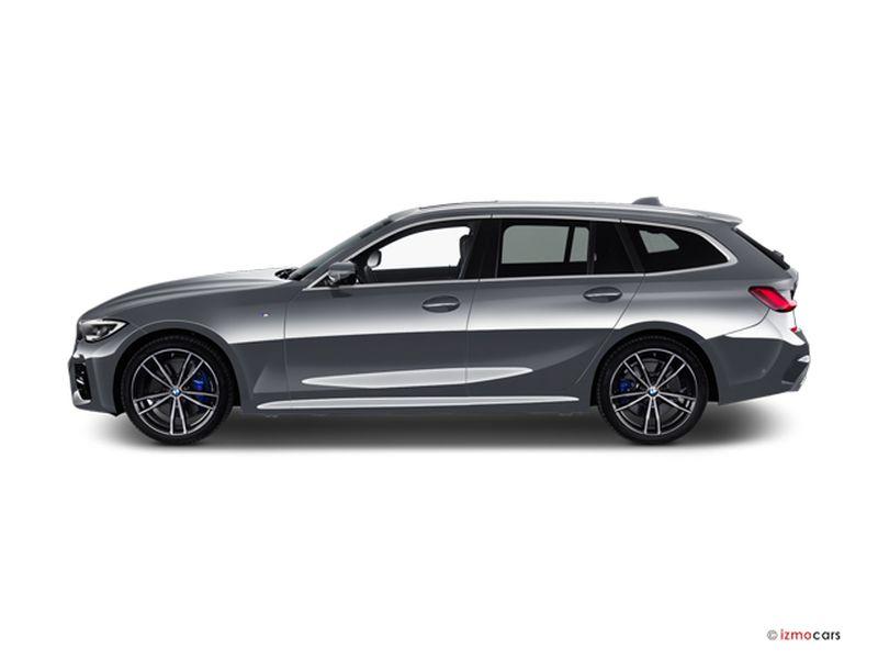 Photo de la BMW SERIE 3 LOUNGE TOURING 320D 190 CH 5 PORTES à motorisation DIESEL et boite MANUELLE de couleur GRIS - Photo 1