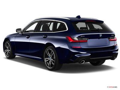 Miniature de la BMW SERIE 3 LOUNGE TOURING 320D 190 CH 5 PORTES à motorisation DIESEL et boite MANUELLE de couleur GRIS - Miniature 2