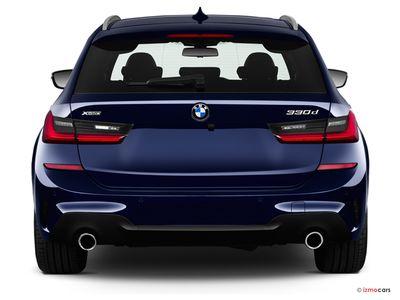 Miniature de la BMW SERIE 3 LOUNGE TOURING 320D 190 CH 5 PORTES à motorisation DIESEL et boite MANUELLE de couleur GRIS - Miniature 4