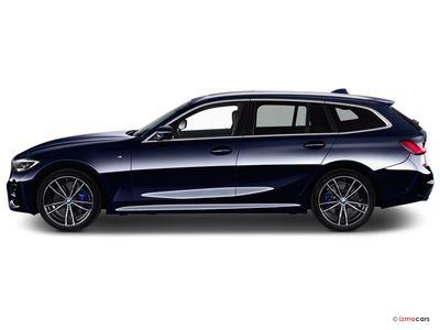 Miniature de la BMW SERIE 3 LOUNGE TOURING 320D 190 CH 5 PORTES à motorisation DIESEL et boite MANUELLE de couleur GRIS - Miniature 5