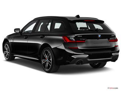 Miniature de la BMW SERIE 3 TOURING LOUNGE TOURING 320E XDRIVE 204 CH BVA8 5 PORTES à motorisation HYBRIDE RECHARGEABLE et boite AUTOMATIQUE de couleur NOIR - Miniature 2