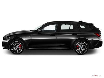Miniature de la BMW SERIE 3 TOURING LOUNGE TOURING 320E XDRIVE 204 CH BVA8 5 PORTES à motorisation HYBRIDE RECHARGEABLE et boite AUTOMATIQUE de couleur NOIR - Miniature 5