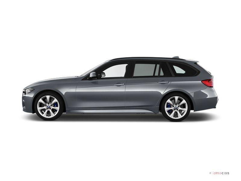 Photo de la BMW SERIE 3 M SPORT TOURING 318D 150 CH 5 PORTES à motorisation DIESEL et boite MANUELLE de couleur GRIS - Photo 1