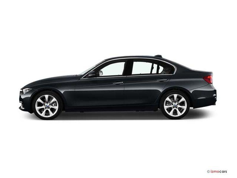 Photo de la BMW SERIE 3 LOUNGE 320D 190 CH 4 PORTES à motorisation DIESEL et boite MANUELLE de couleur GRIS - Photo 1
