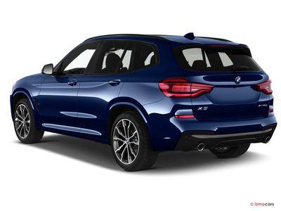 Miniature de la BMW X3 M SPORT X3 XDRIVE20D 190CH BVA8 5 PORTES à motorisation DIESEL et boite AUTOMATIQUE de couleur BLANC - Miniature 2