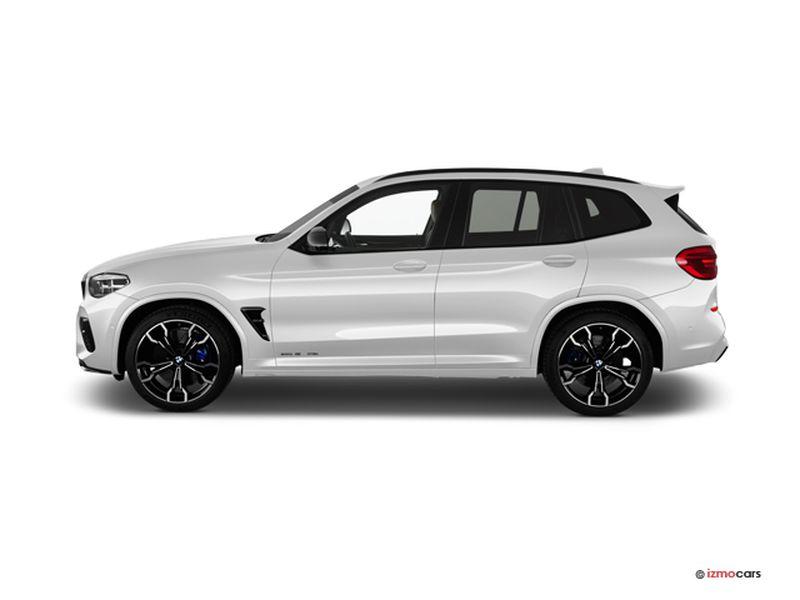 Photo de la BMW X3 X3 M40D 326CH BVA8 5 PORTES à motorisation DIESEL et boite AUTOMATIQUE de couleur BLANC - Photo 1