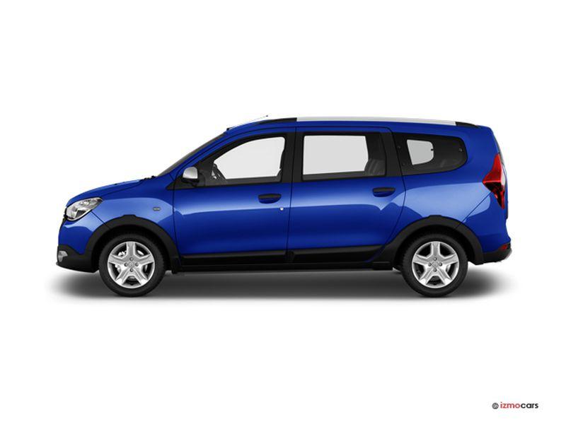 Photo de la DACIA LODGY 15 ANS BLUE DCI 115 7 PLACES - 2020 5 PORTES à motorisation DIESEL et boite MANUELLE de couleur BLEU - Photo 1