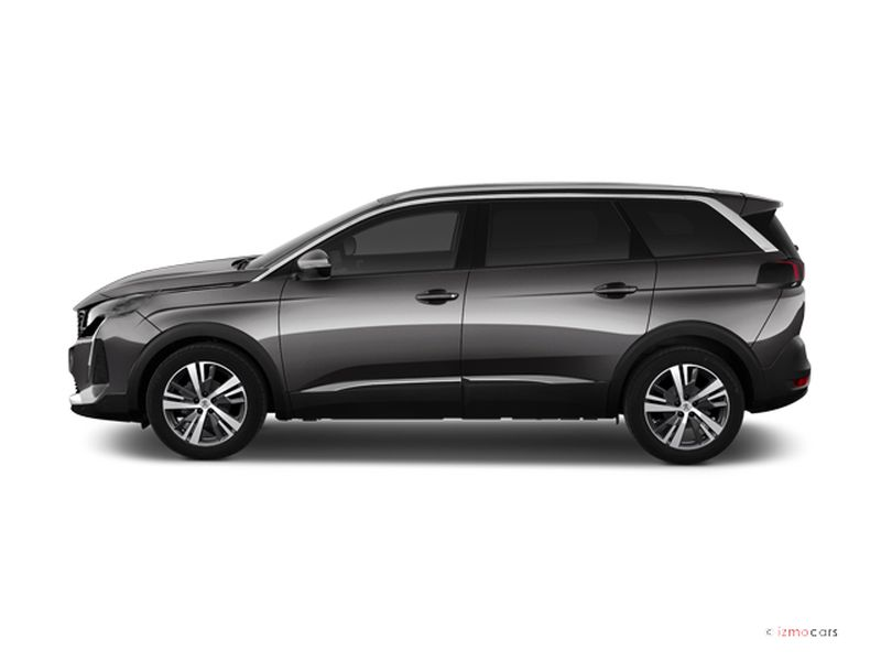 Photo de la PEUGEOT 5008 ALLURE PACK BLUEHDI 130CH START/STOP EAT8 5 PORTES à motorisation DIESEL et boite AUTOMATIQUE de couleur GRIS - Photo 1