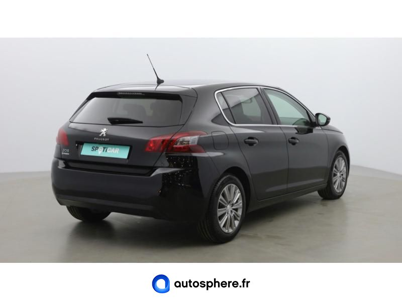 PEUGEOT 308 1.6 BLUEHDI 120CH ALLURE EAT6 - Miniature 5