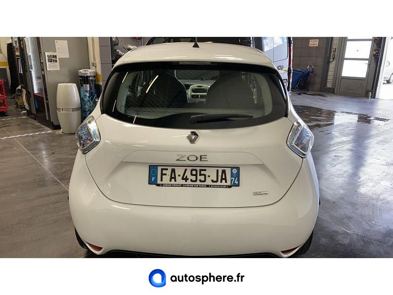 RENAULT ZOE CITY CHARGE NORMALE R90 - Miniature 4