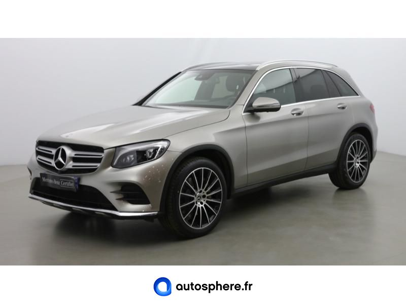 MERCEDES GLC 250 D 204CH FASCINATION 4MATIC 9G-TRONIC EURO6C - Photo 1