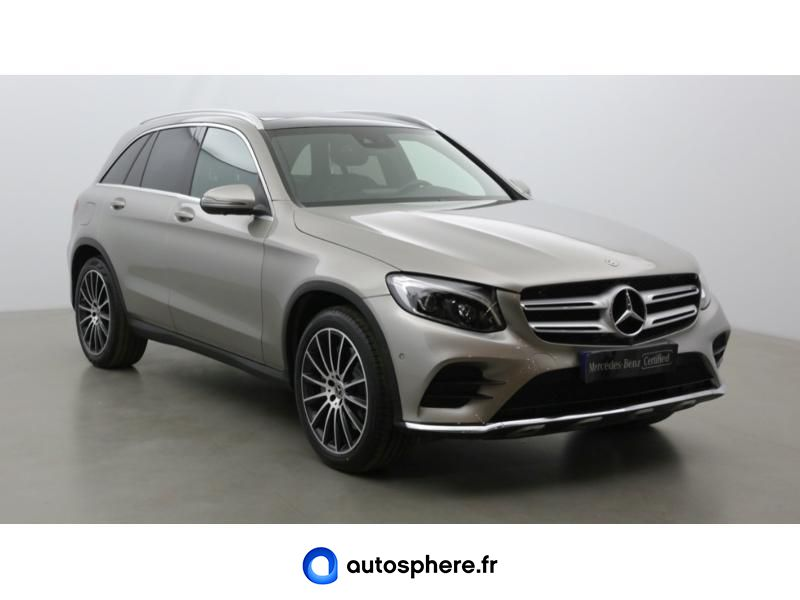 MERCEDES GLC 250 D 204CH FASCINATION 4MATIC 9G-TRONIC EURO6C - Miniature 3