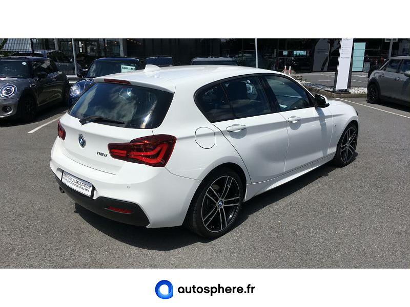 BMW SERIE 1 118D 150CH M SPORT ULTIMATE 5P EURO6C - Miniature 2