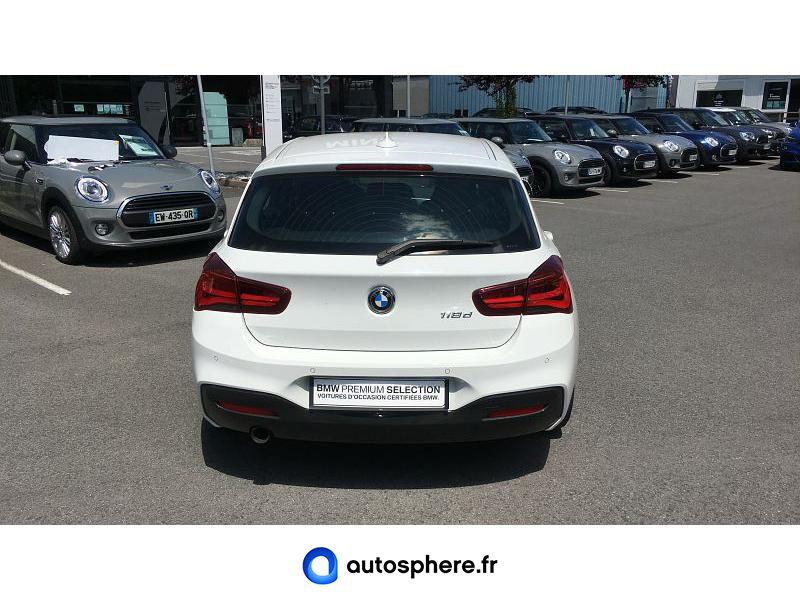 BMW SERIE 1 118D 150CH M SPORT ULTIMATE 5P EURO6C - Miniature 4