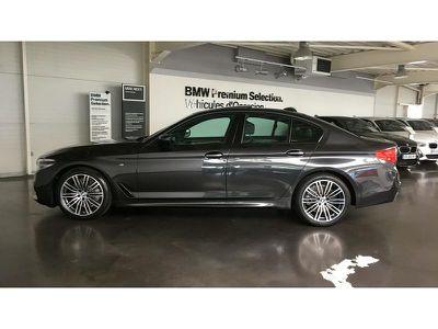 BMW SERIE 5 520DA 190CH M SPORT STEPTRONIC EURO6D-T - Miniature 3