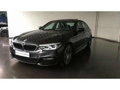 BMW SERIE 5 520DA 190CH M SPORT STEPTRONIC EURO6D-T - Miniature 1
