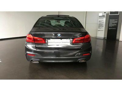 BMW SERIE 5 520DA 190CH M SPORT STEPTRONIC EURO6D-T - Miniature 4