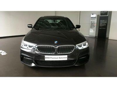 BMW SERIE 5 520DA 190CH M SPORT STEPTRONIC EURO6D-T - Miniature 5