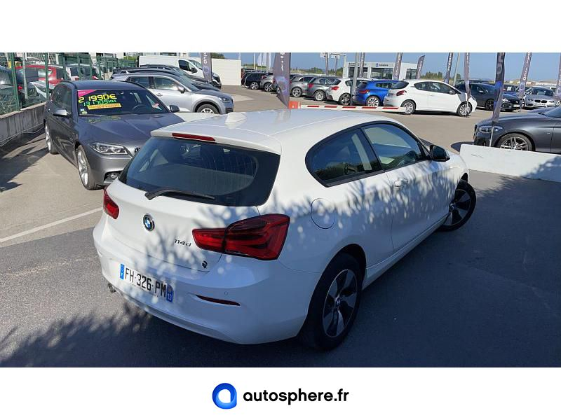 BMW SERIE 1 114D 95CH LOUNGE 3P EURO6C - Miniature 2