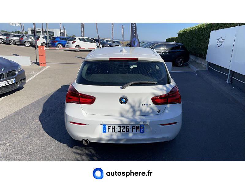 BMW SERIE 1 114D 95CH LOUNGE 3P EURO6C - Miniature 4