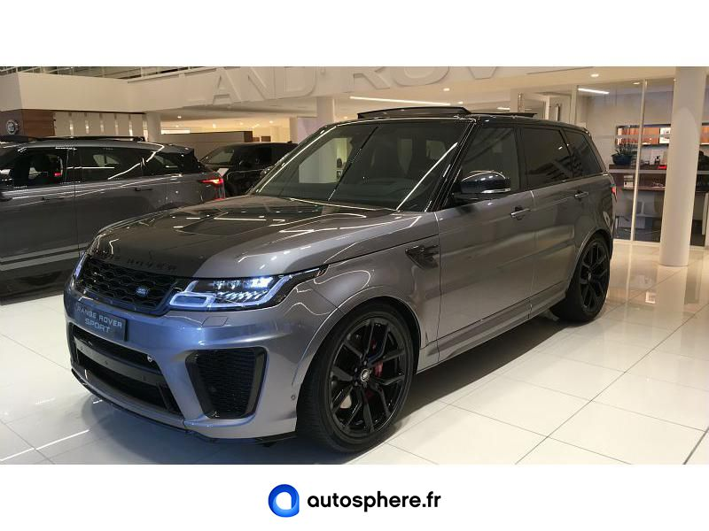 LAND-ROVER RANGE ROVER SPORT 5.0 V8 S/C 575CH SVR MARK VIII - Photo 1