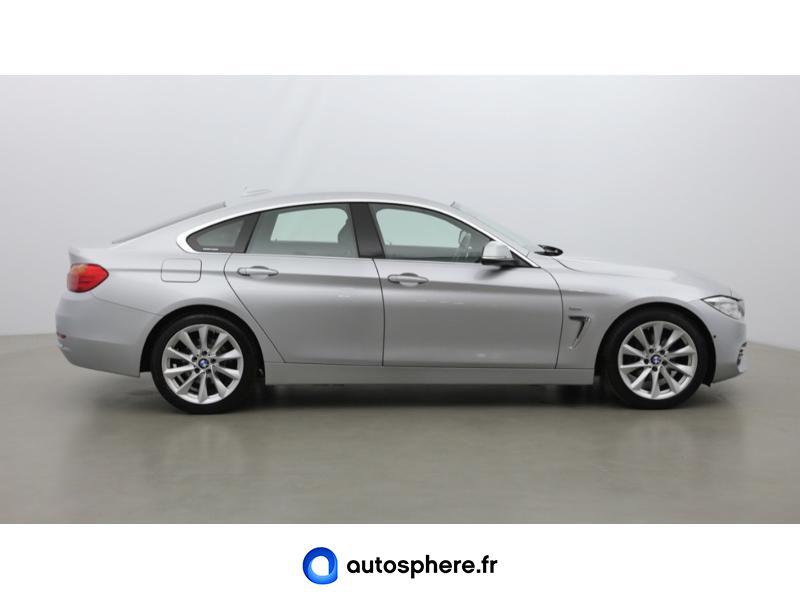 BMW SERIE 4 GRAN COUPE 420DA 190CH LUXURY - Miniature 4
